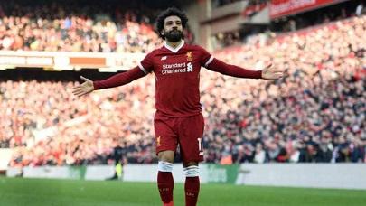 Salah tem 43 gols em 48 partidas na temporada (Foto  AFP OLI SCARFF).  Mohammed Salah e82b3a4b3a7ab